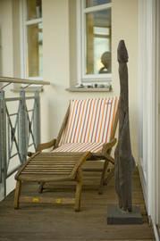 Relax-Liege auf der Dachterrasse