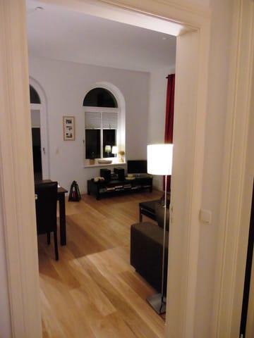 Wohnzimmer Eichendielen