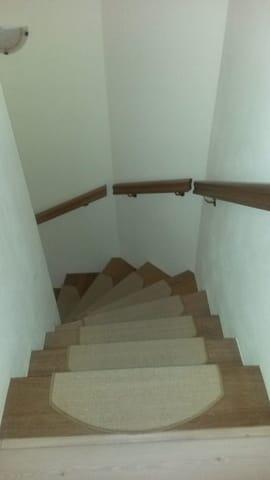 Treppe zur FeWo