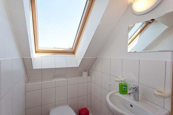 Kleines Bad in der oberen Etage