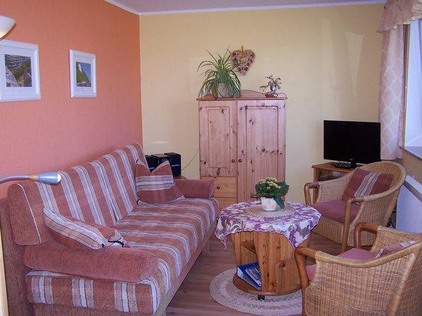 Blick in das Wohnzimmer