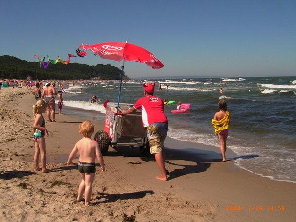 Sommer in Baabe... FUN am Strand... FUN-tastischer Sommer