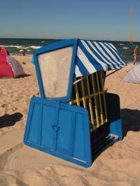 Der ist am Strand von Baabe reserviert und für Sie kostenfrei