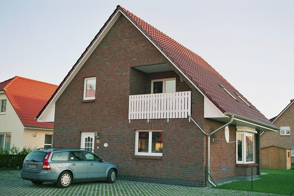 Ferienhaus Eingangsansicht