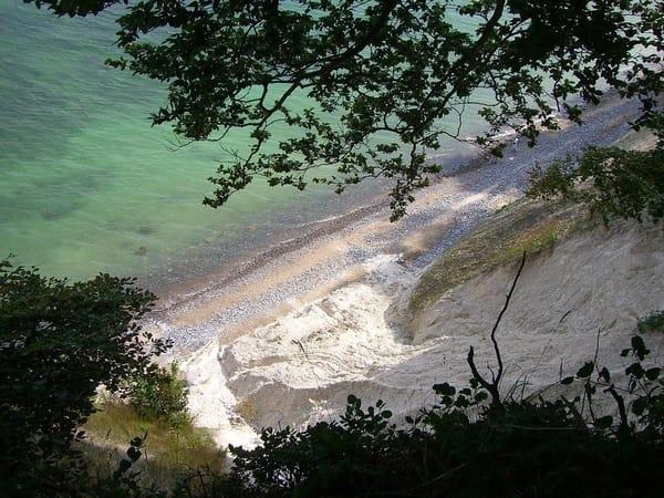 Die Kreideküste von Rügen in wenigen Autominuten erreichbar