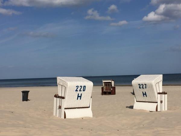 Ein Strandkorb macht Ihren Urlaub perfekt