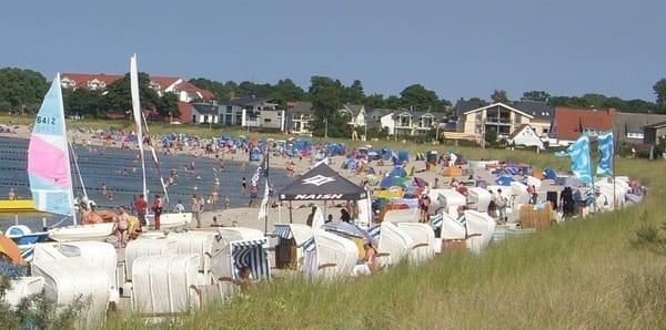 Der Strand von Glowe ist ebenfalls fußläufig zu erreichen (500m)