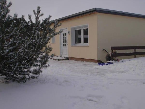 Ferienhaus im Winter ideal zur Entspannung