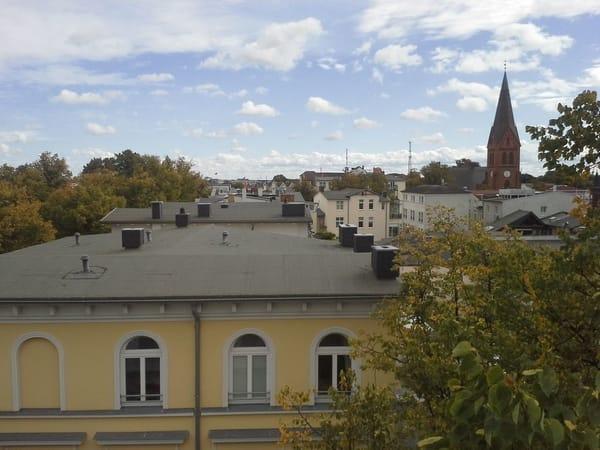 Aussicht Balkon Schlafzimmer
