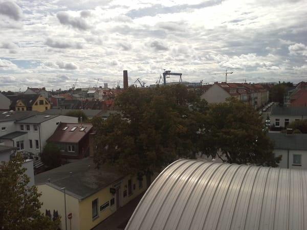 Aussicht Balkon Wohnzimmer