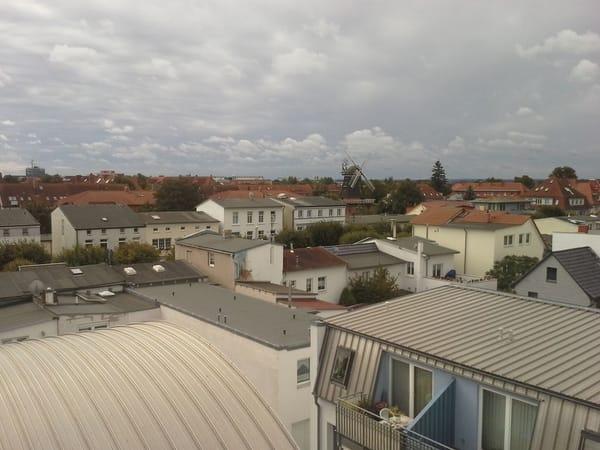 Aussicht Fenster Wohnzimmer