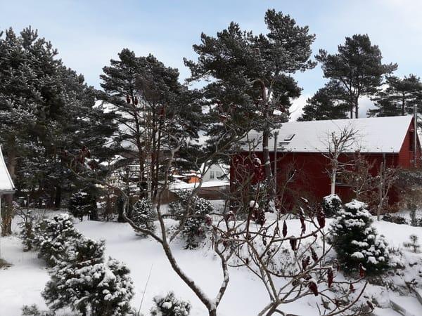 """Blick im Winter nach """"unten"""""""