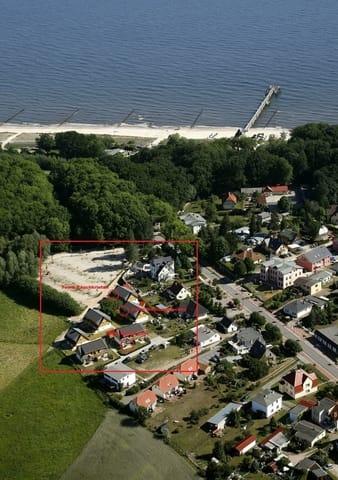 vom Haus zum Strand und Seebrücke sind es nur ca. 200 m