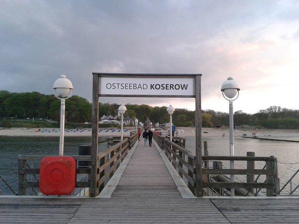 Seebrücke (derzeit nur teilweise begehbar)