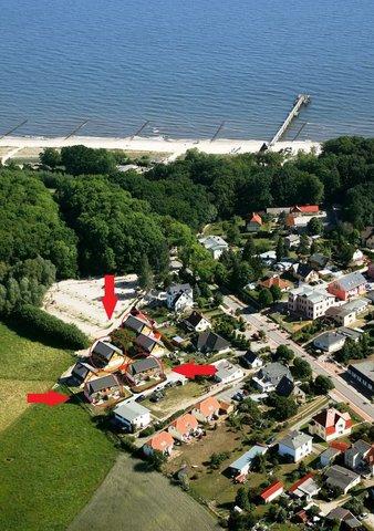 Luftbild der Ferienanlage