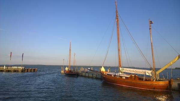 Der Hafen in Dierhagen Dorf
