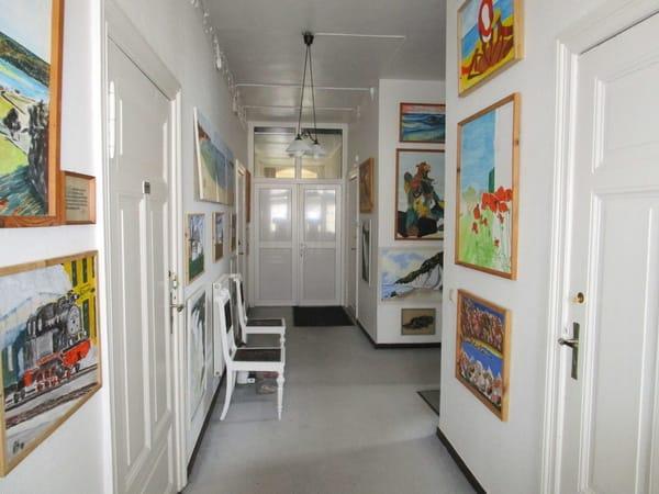 Villa Hausflur/Galerie