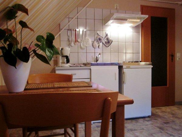 Gemütliche Küche für 2 Pers.