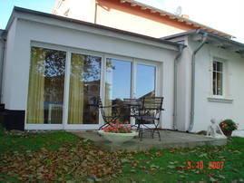 Gartenhaus 3, Ansicht von Osten
