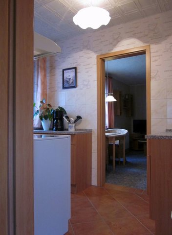 Zugang zum Wohnbereich / Küche