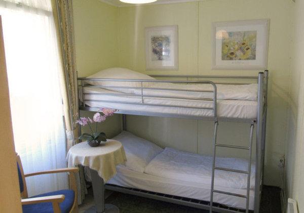 Etagenbett im Kinderschlafzimmer