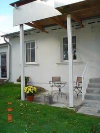 Gartenhaus 2, Terrasse