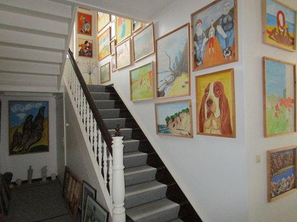 Villa Treppenhaus / Galerie