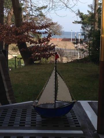 Ihr Blick zum Meer von der Terrasse