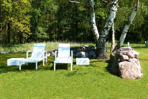 Entspannung in der großzügigen Gartenanlage