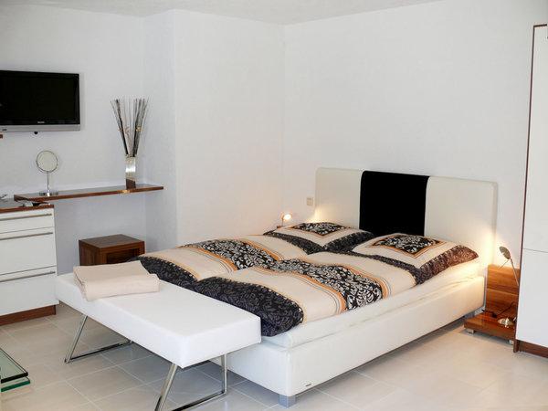 Schlafbereich im Wohn- Schlafzimmer