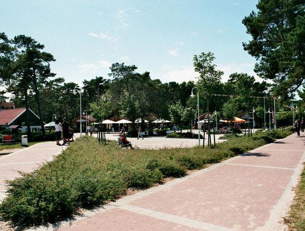 Kurplatz in Glowe
