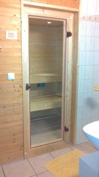 Sauna im Bad