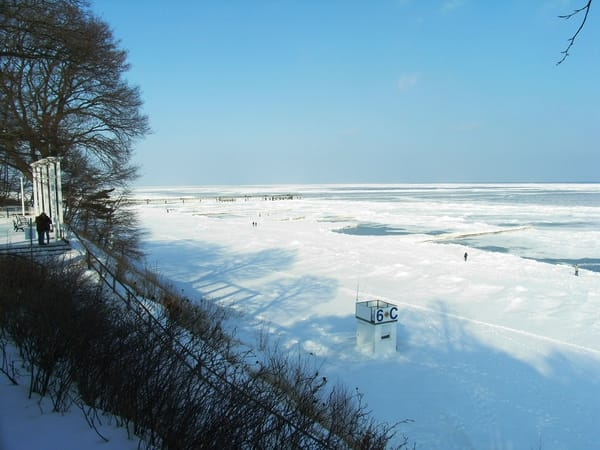 gefrorene Ostsee
