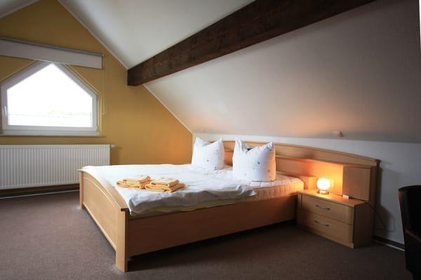 Maisonette-Schlafzimmer für 3 Personen