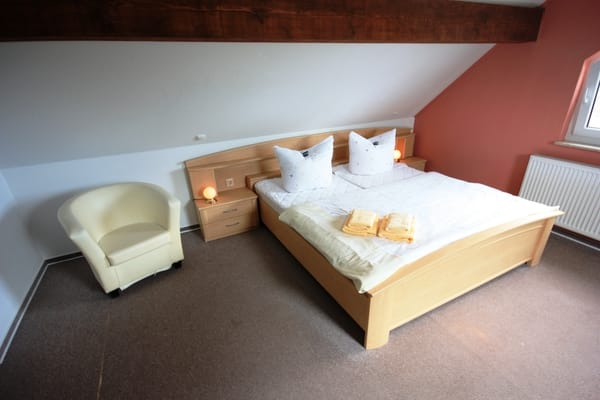 Maisonetteschlafzimmer