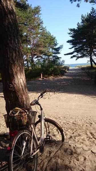 1km bis zum Strand!