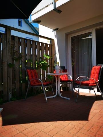 Terrasse Wohnung Vilm