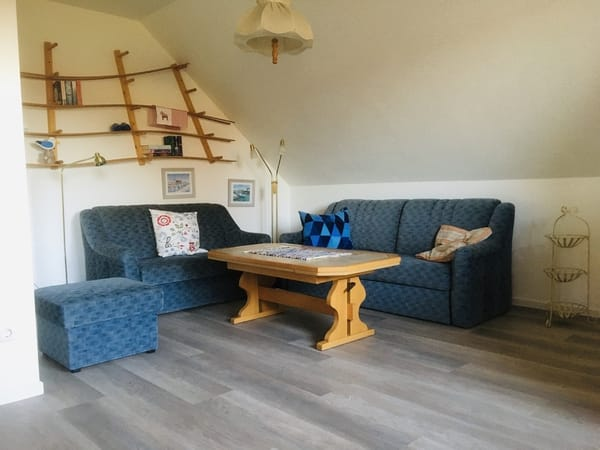 Wohnzimmer renoviert