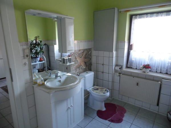 Bad  Waschplatz und WC