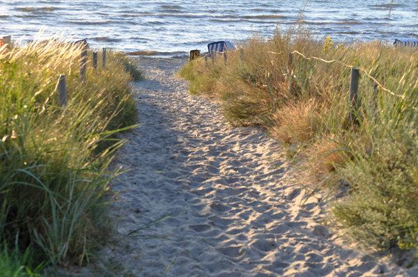 Eigener Strandzugang