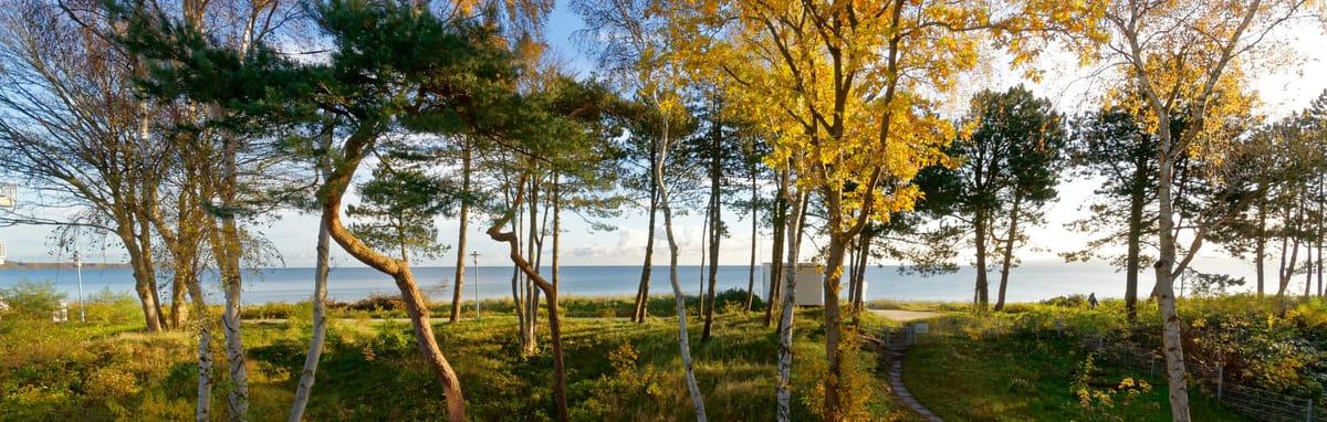 Atemberaubend schöner Blick vom Balkon auf die Ostsee und Kap Arkona