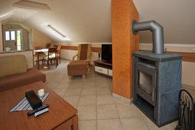 Wohnzimmer-mit Kaminofen