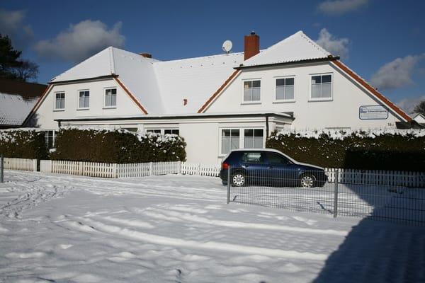 Haus Schwedengang im Winter