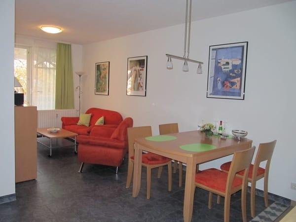 Wohnraum und Essecke