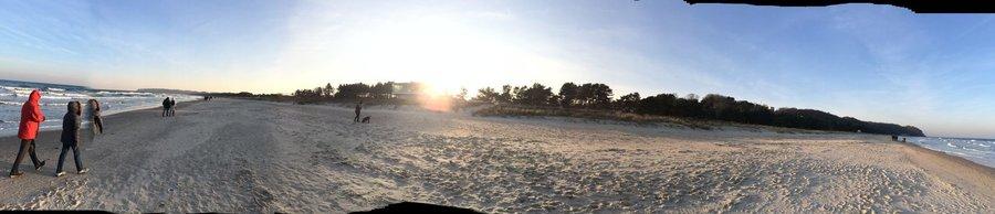 Abendidylle am Baaber Strand