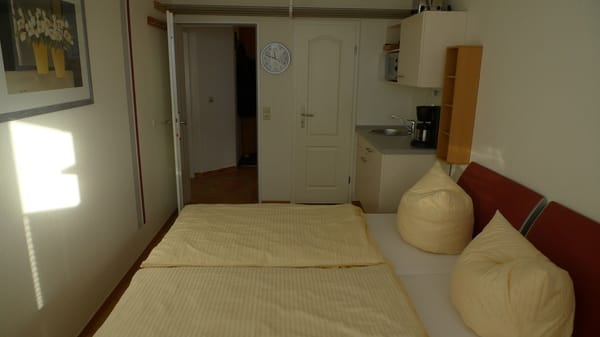 Wohnung 1 mit Blick zum Flur