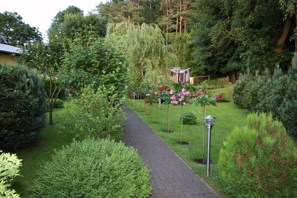 """Eingang Haus """"Am Wald"""""""