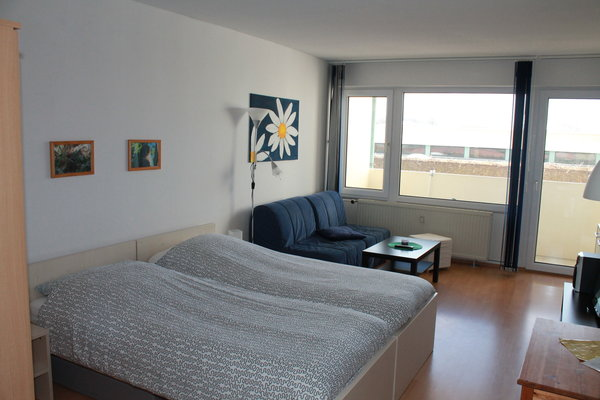 Blick ins Appartement