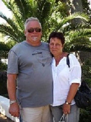 .....und das sind Ihre Gastgeber: Angelika & Peter Matz