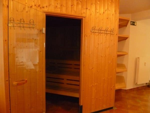 Kostenlose Saunanutuzung im Haus